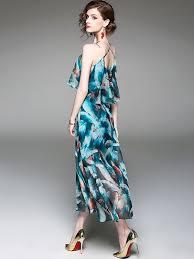 light blue halter maxi dress light blue halter design ruffle overlay maxi dress metisu