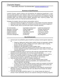 hr resume sle hr resumes resume for a generalist in human resources