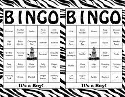 100 baby shower bingo cards printable party baby boy jungle