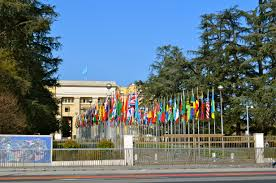United Nation Flag Touring The Palais Des Nations The United Nations In Geneva