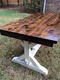 Building Outdoor Wood Tables by Diy Large Outdoor Dining Table Outdoor Dining Backyard And Patios