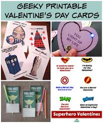 geeky valentines cards free printables for geeky s day cards family