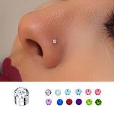 ear stud mm magnetic nose ear stud