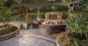 Patio Backyard Design Ideas Big Backyard Design Ideas Patio Design Ideas Using Concrete Pavers