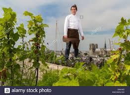 Vegetable Garden Restaurant by Yannick Alleno In The Rooftop Vegetable Garden Of The Restaurant