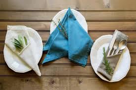 Decorative Napkin Folding 3 Simple Ways To Fold A Napkin Diy Network Blog Made Remade Diy