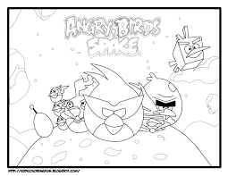 free angry birds space coloring pages holidays