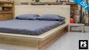 Nomad Bed Frame Bed Frames Platform Frame King With No Headboard Storage Metal
