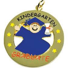 graduation medallion die cut medallion kindergarten graduate boy coordinate your