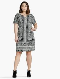 plus size shirt dresses lucky brand