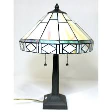 mission style stained glass lamps best style lighting images on