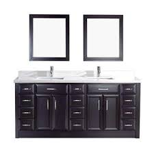 Black Vanities With Tops Bathroom Vanities The Home Depot - Black bathroom vanity and sink