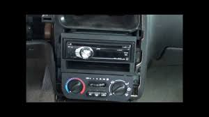 00 02 saturn sl2 radio install after trim removal youtube
