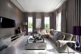 Gallery Of Modern Grey Living Room Design Cute On Home Decorating - Living room design grey