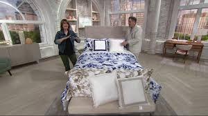 Isaac Mizrahi Sheets Isaac Mizrahi Live Home 5 Piece Floral Burst Comforter Set On Qvc