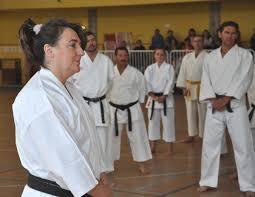 Mª José Márquez, Maestra de Karate de la localidad y anfitriona del evento. - Maria_jose_marquez