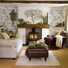 how to decorate a small living room with a fireplace apartment