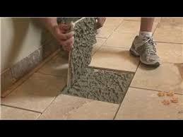 tile flooring how to repair gaps between floor tiles