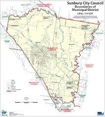 Councils Of Melbourne Map Sunbury City Council Finalised