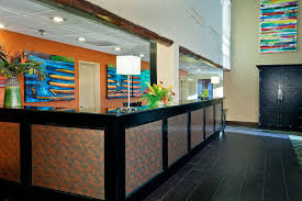 Hotel Lobby Reception Desk by Carpita Construction Portfolio