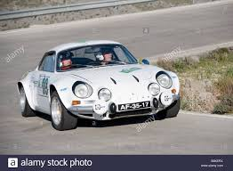 alpine a110 white renault alpine a110 berlinette sports car racing in the