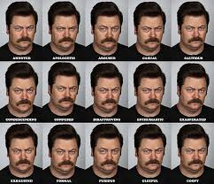 Faces Of Memes - the many faces of ron swanson memes humor and laughter