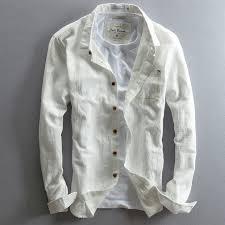 aliexpress com buy men shirt long sleeve cotton linen casual