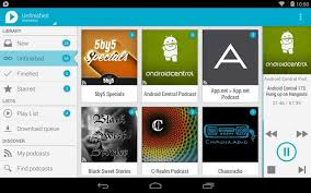 podcasts on android android podcast apps with chromecast support
