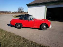 1968 austin healey sprite convertible in cadillac mi classic car