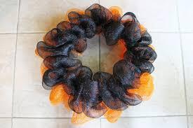 miss kopy how to make a deco mesh ruffle wreath