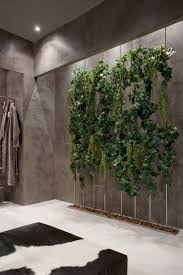 Indoor Garden Wall by An Exotic Indoor Garden Surrounding A Zen Inspired Bath
