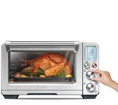 Toaster Oven Reheat Pizza Breville Smart Oven Air Page 1 U2014 Qvc Com