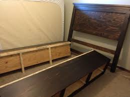 Box Bed Frame With Drawers White Storage Bedframe Diy Projects