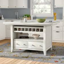 wood kitchen island wood kitchen islands carts you ll love wayfair