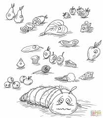 hungry caterpillar coloring pages coloring pages