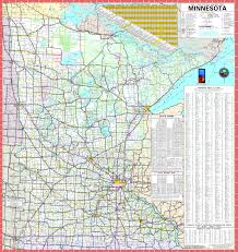 Map Of Vermont Towns Large Detailed Map Of Minnesota With Cities And Towns