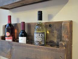 the quick u0026 practically free pallet wine rack super easy our