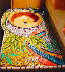 decorating a home on a budget mosaics sinks and house