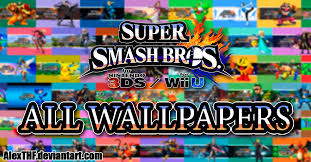 super smash bros wii u wallpapers all wallpapers pack super smash bros wii u 3ds by alexthf on