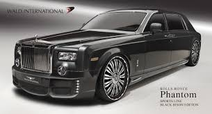 roll royce phantom rolls royce phantom sports line black bison edition previewed