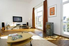 Wohnzimmer Schwedisch Fertighaus Mit Pultdach Und Individueller