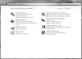 afficher l heure sur le bureau windows 7 panneau de configuration