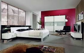 Modern White And Black Bedroom Bedroom Enchanting White Slate Blue Bedroom Decoration Using