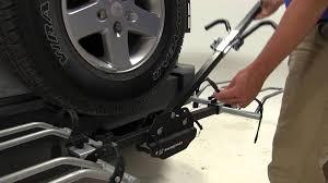 jeep wrangler mountain bike review of the swagman xtc 2 hitch bike racks on a 2014 jeep