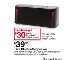 bluetooth speaker black friday deals ilive bluetooth speaker deal at kmart black friday is 39 99