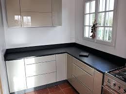plan de travail cuisine noir paillet plan de travail cuisine noir paillete plan de travail en granit