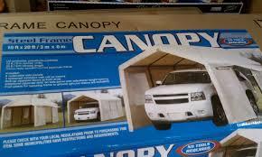 Canvas Carports Furniture Contemporary Costco Carport For Outdoor Decoration Idea