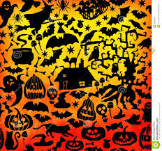 picture of happy halloween vector happy halloween seamless pattern classic bundle icons