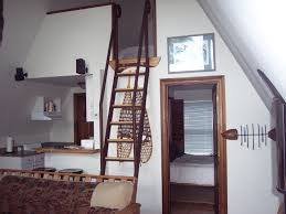 ship ladder the perfect stairs for getting up to a cabin loft