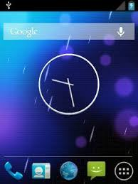 analog clock widgets for android app android 4 2 look alike analog clock wi samsung galaxy y gt